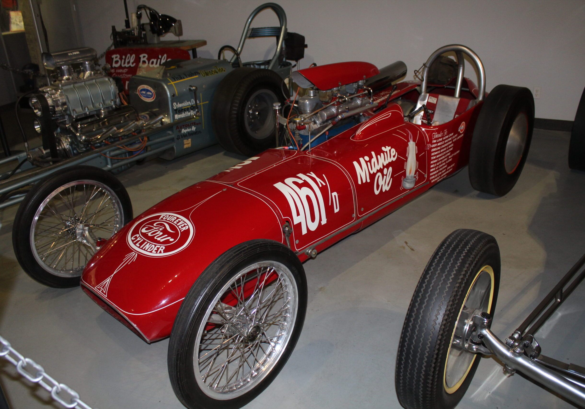 Midnite Oil on Display at the NHRA museum